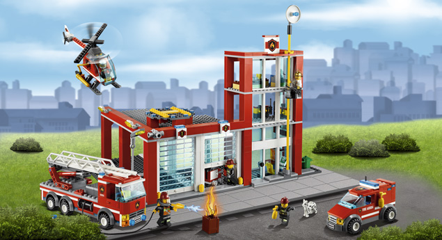 Lego - 60004 Fire Station
