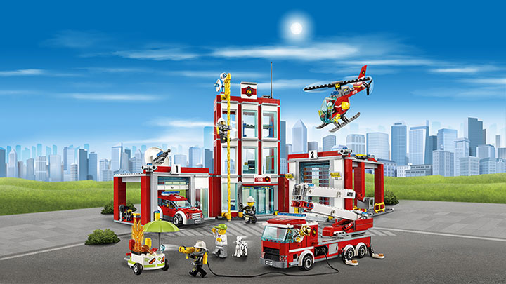 Lego - 60110 Fire Station